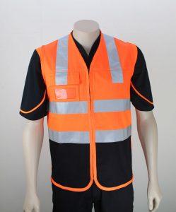 Hi Vis Vest Summer By Loop Workwear NZ